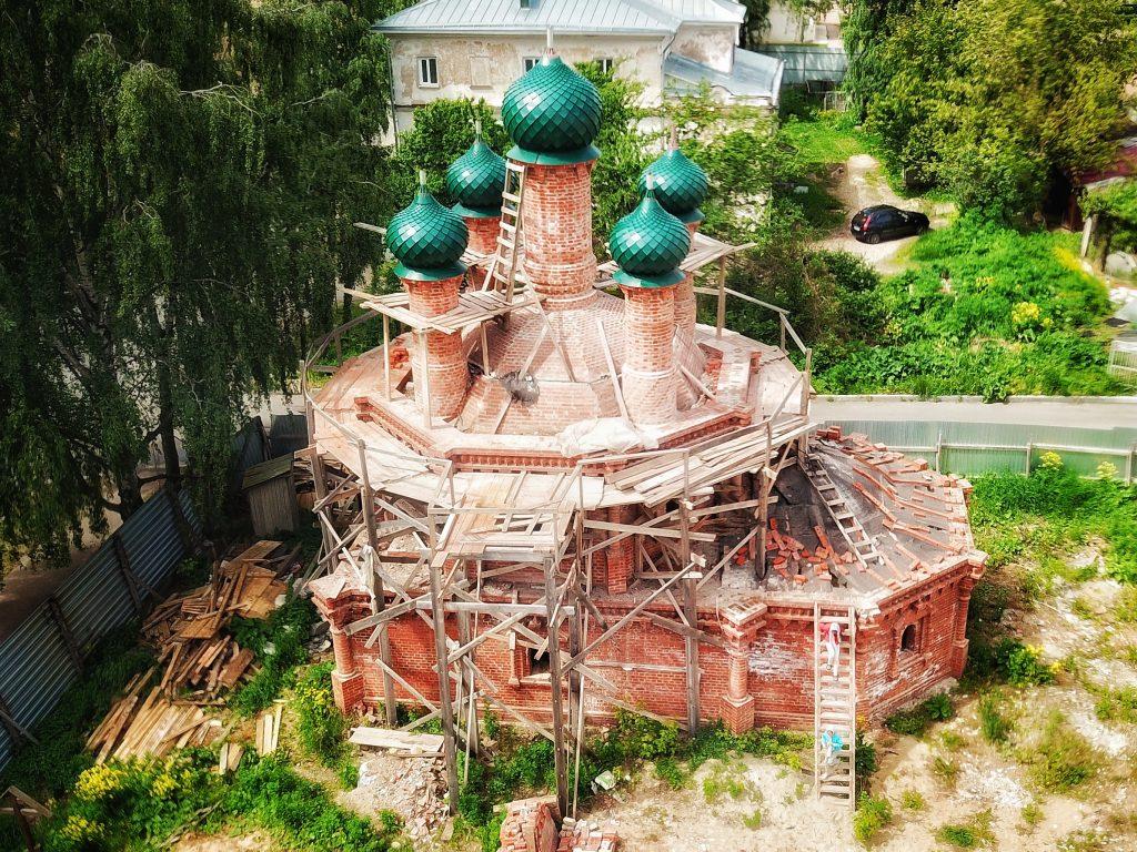 Храм Николая на Дебре Кострома