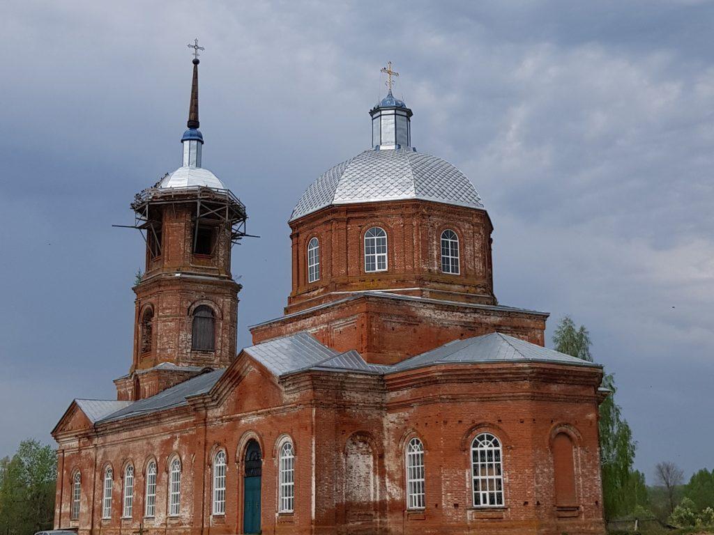 Храм Зосимы и Савватия с.Красная Речка