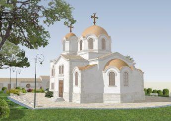 Храм Архангела Михаила с. Михайловка Крым