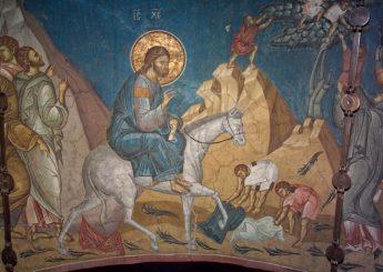 Фреска Вход в Иерусалим