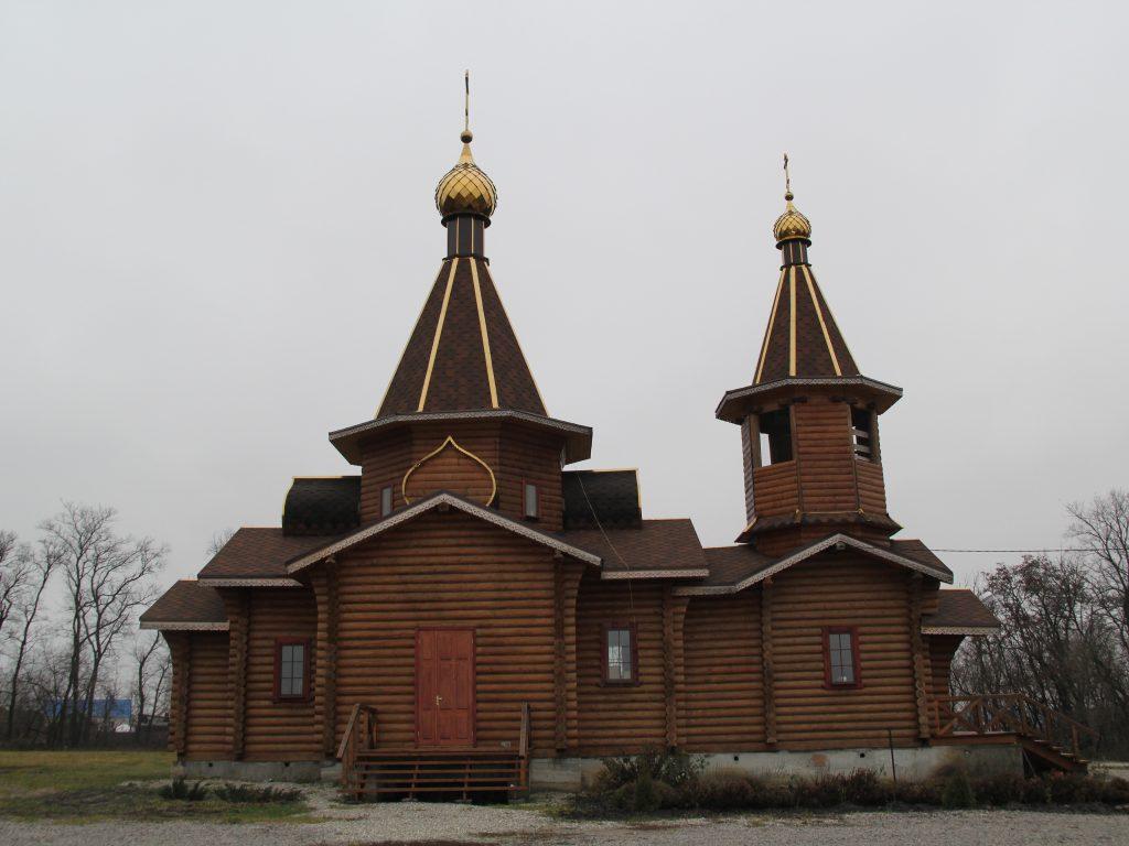 Храм Димитрия Солунского Щучинские Пески