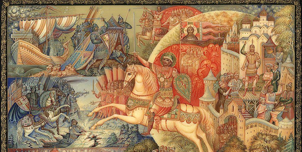 Битва Александра Невского
