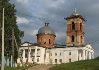 Казанский храм село Верхний Авзян Башкирия