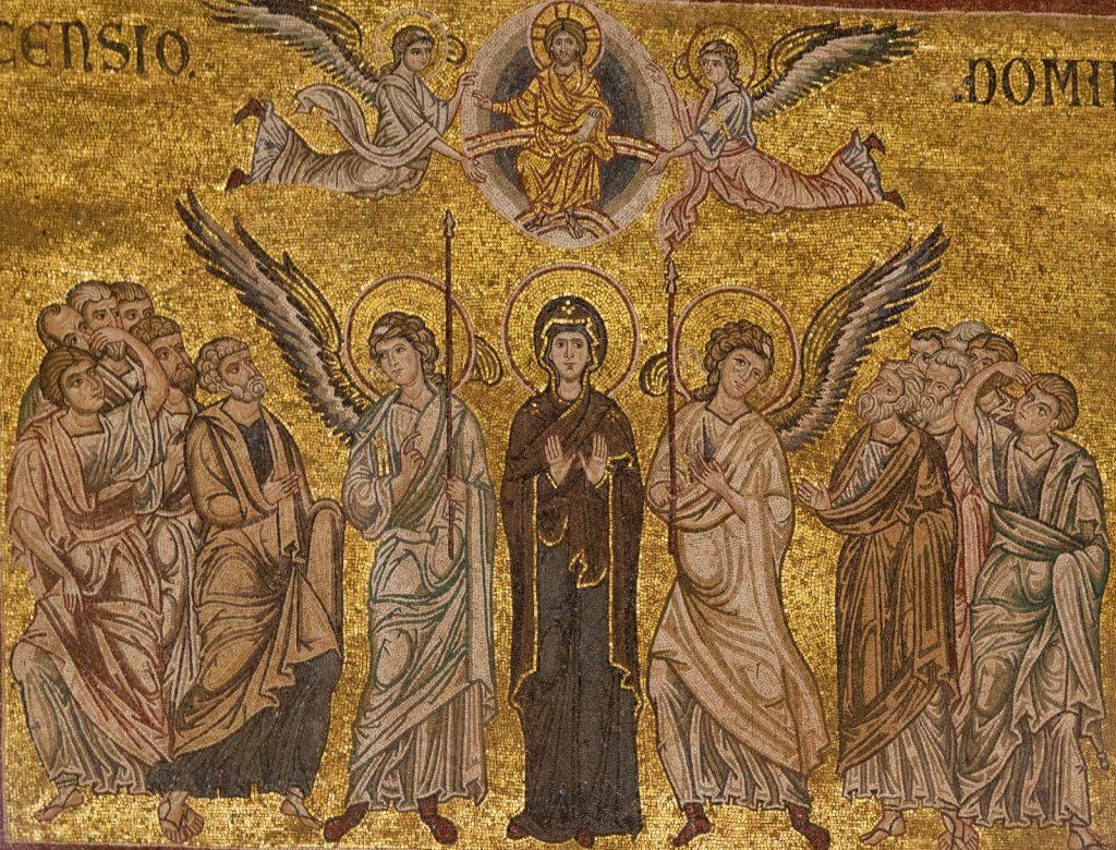Мозаика Вознесение Господне Сицилия Монреале
