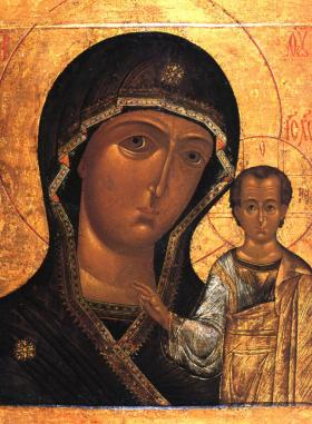 Молебен и молитва перед иконой Божией Матери